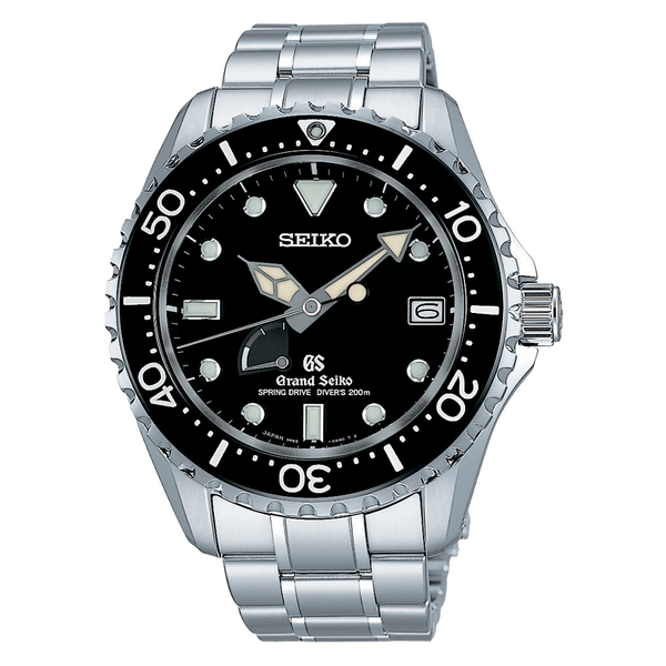 Front of Grand Seiko Spring Drive Diver SBGA029 watch