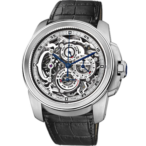 Cartier Complicated Watch Rotonde Grande Flying Tourbillon Perfect Swiss Watch High Quality
