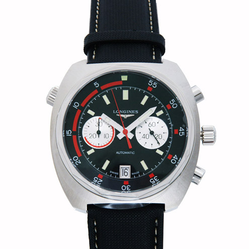 Front of Heritage Dive Chronograph