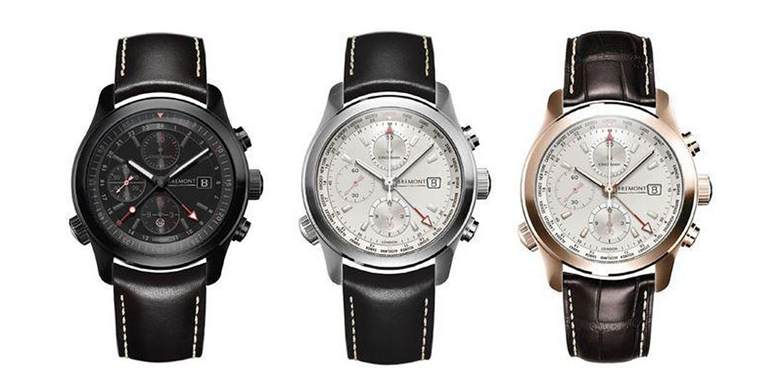 Front of Bremont Kingsman watches