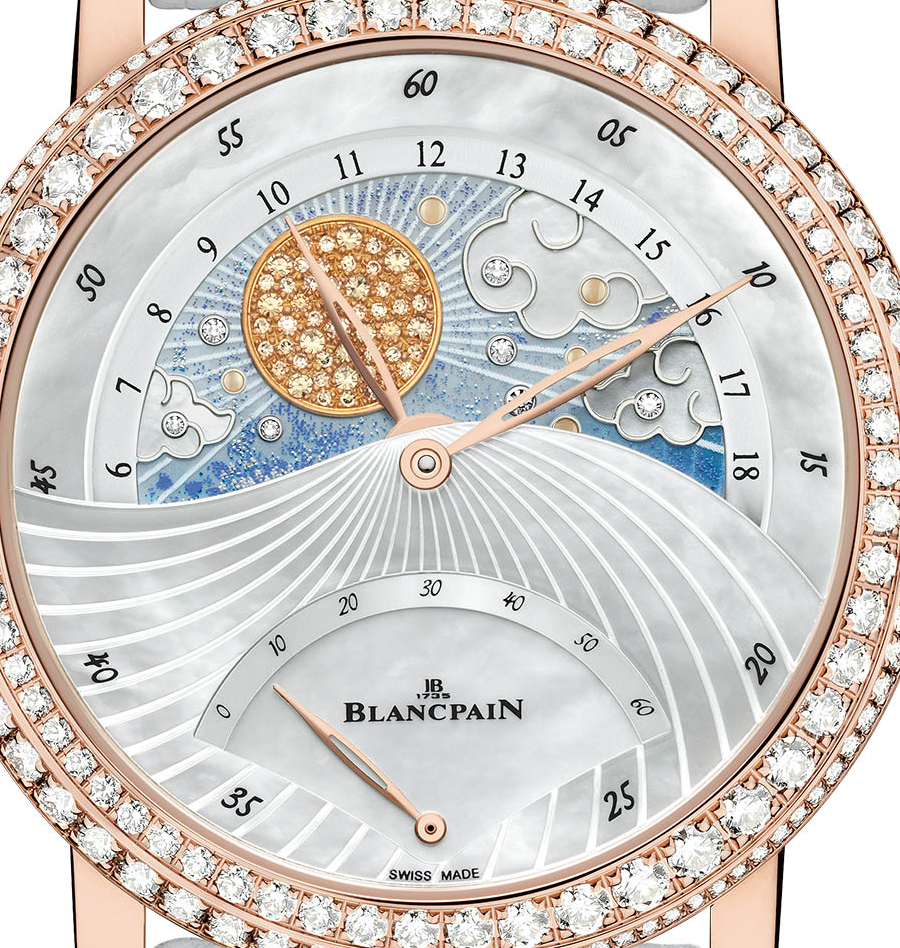 Blancpain Jour Nuit diamonds watch dial 02