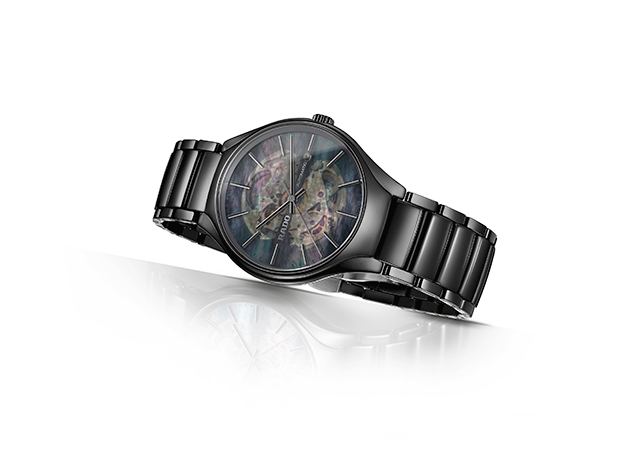 Rado True Open Heart watch in black