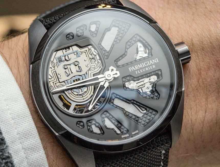 Parmigiani Senfine Concept Watch hands on