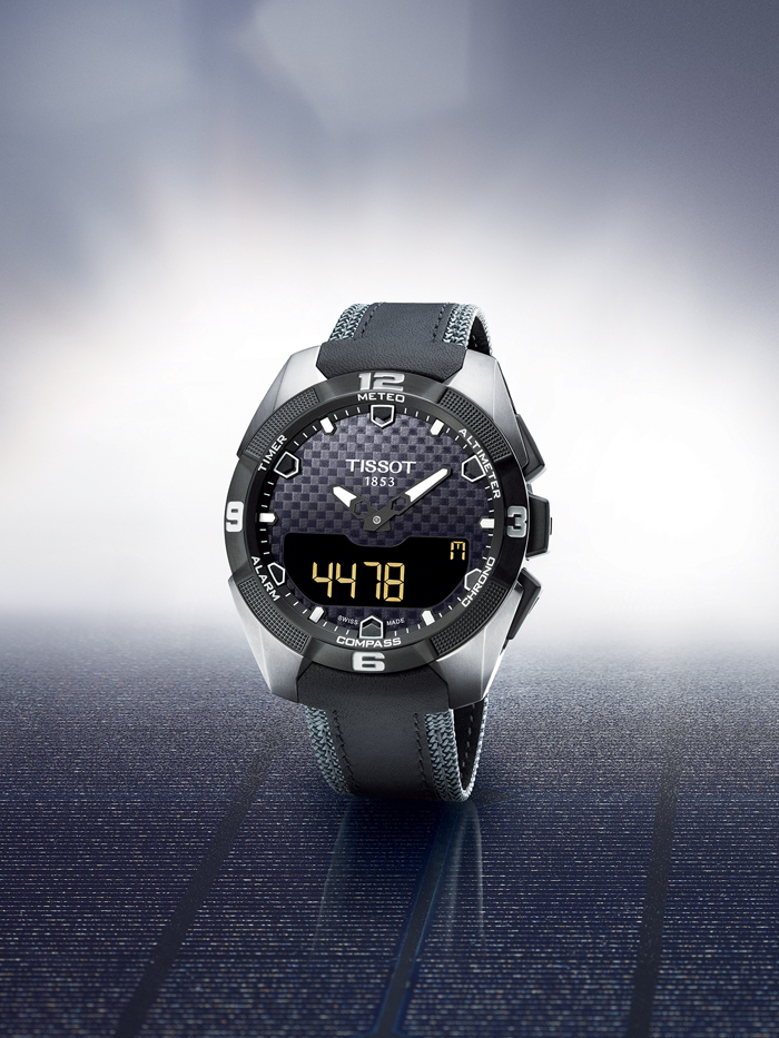 Side of Tissot T-Touch Expert Solar 03