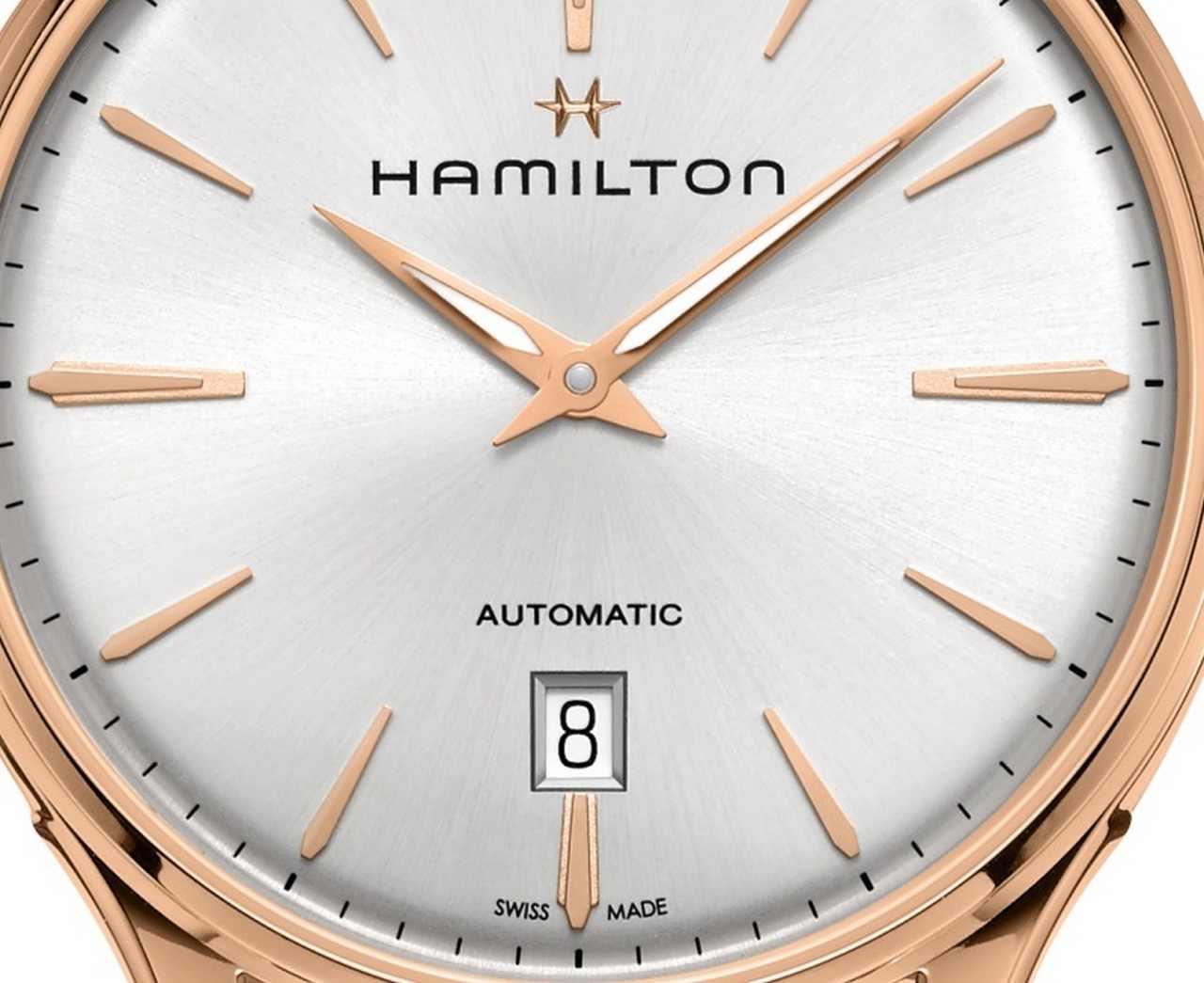 Hamilton Jazzmaster Thinline Gold dial