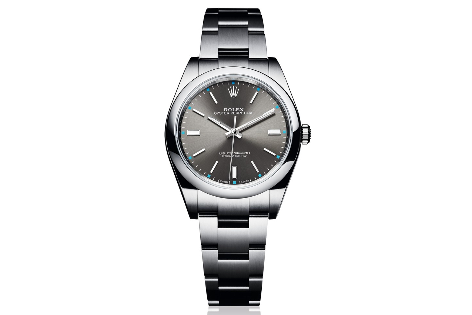 Front of Rolex Oyster Perpetual 39 02
