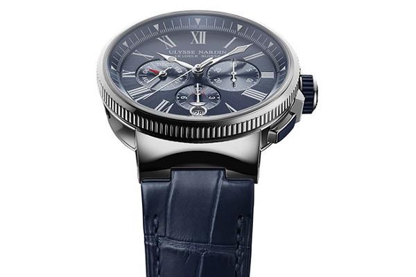 ulysse-nardin-marinaUlysse Nardin Marine Chronograph Annual Calendar steel watch 02