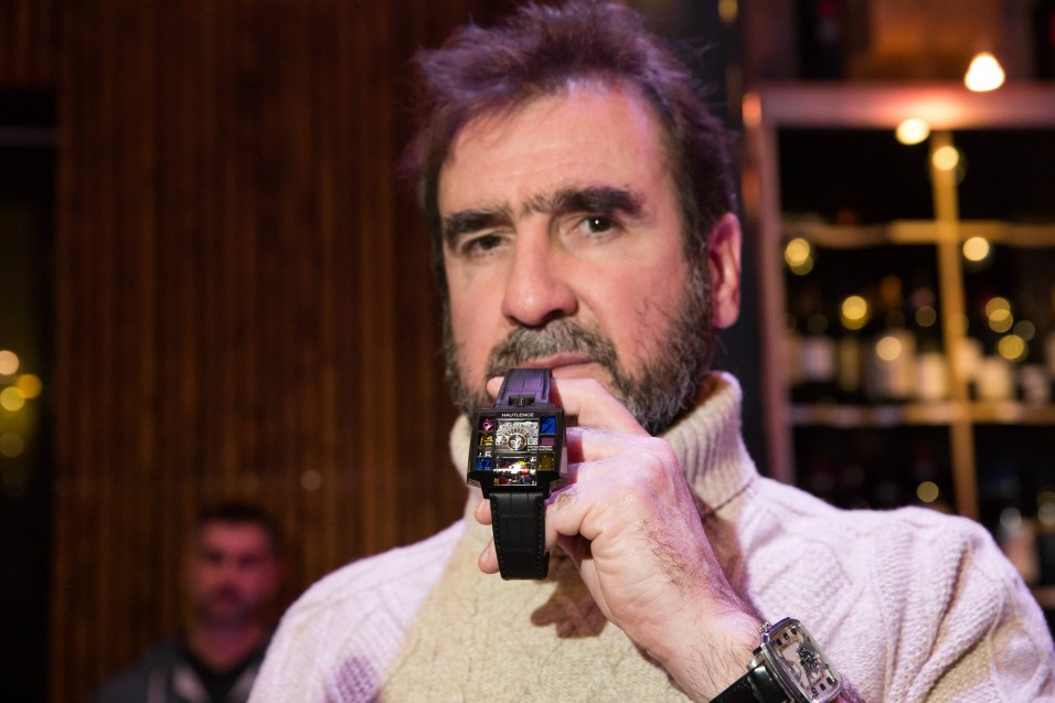 Hautlence launched Vortex Primary Eric Cantona watch