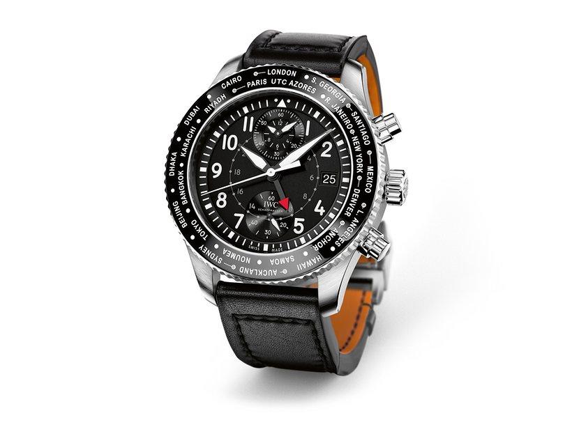 IWC Pilot's Watch Timezoner Chronograph