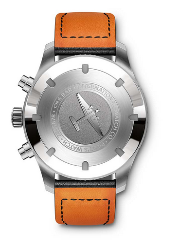 IWC Pilot's Watch Timezoner Chronograph caseback
