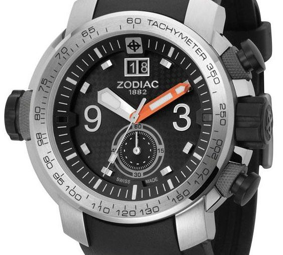 Zodiac ZMX 03 Chronograph Diver Watch Is Kinda Chronograph, Kinda Not - Kinda Interesting, Kinda Bland Watch Releases