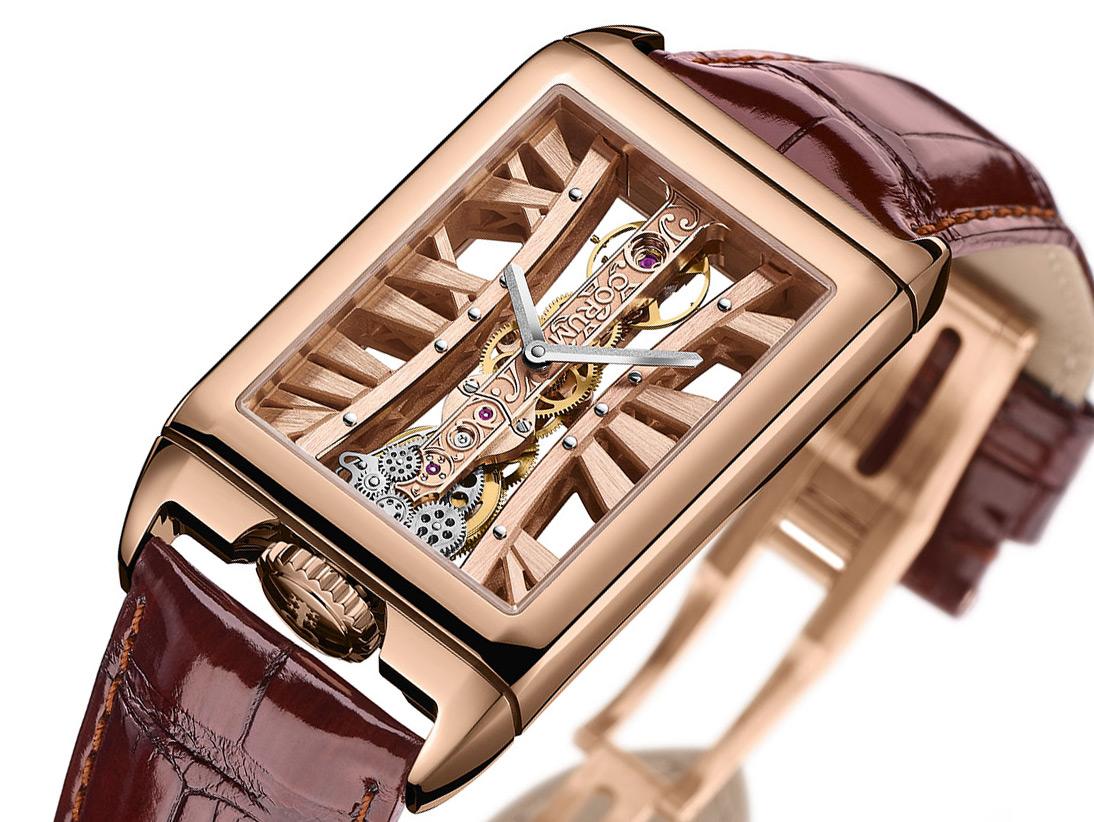 Corum Golden Bridge Rectangle Watch Watch Releases