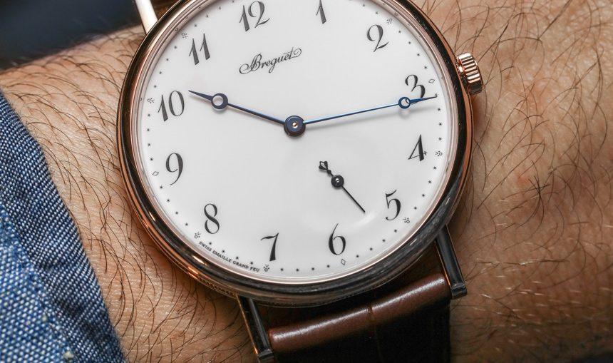 Breguet Classique 7147 'Grand Feu' Enamel Dial Watch Hands-On Hands-On