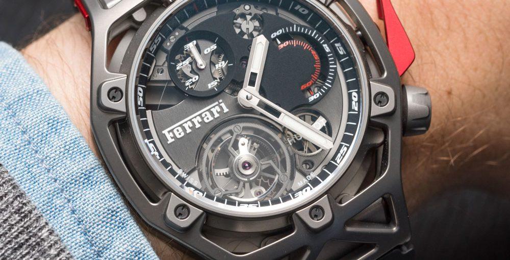 Hublot Techframe Ferrari 70 Years Tourbillon Chronograph Watch Hands-On Hands-On