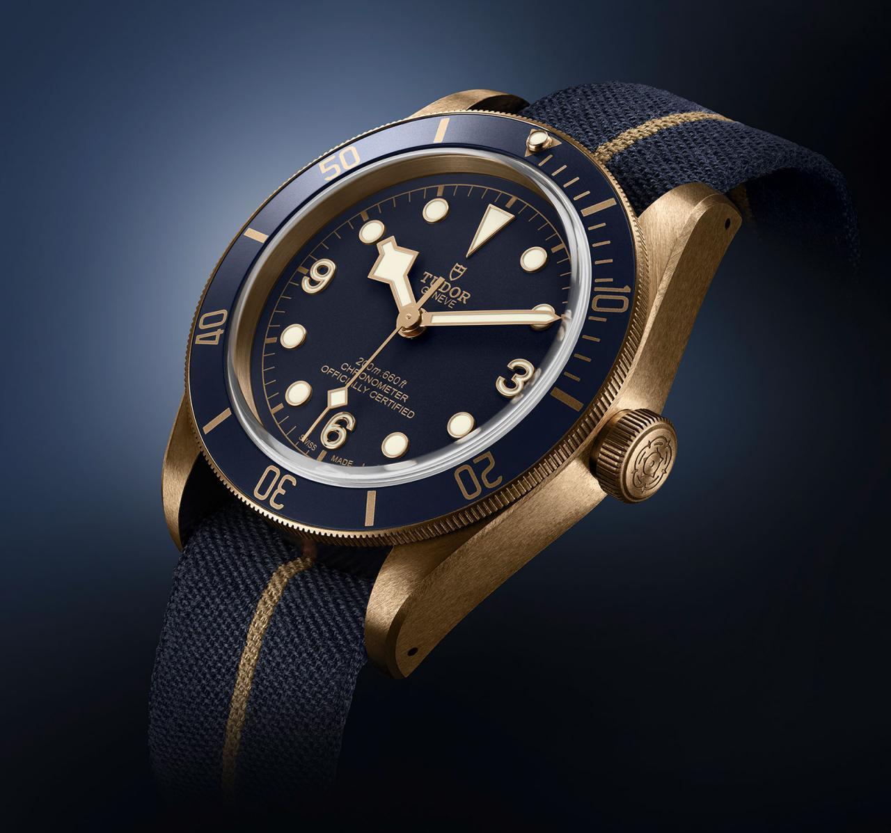 Tudor Black Bay Bronze Blue Bucherer 1