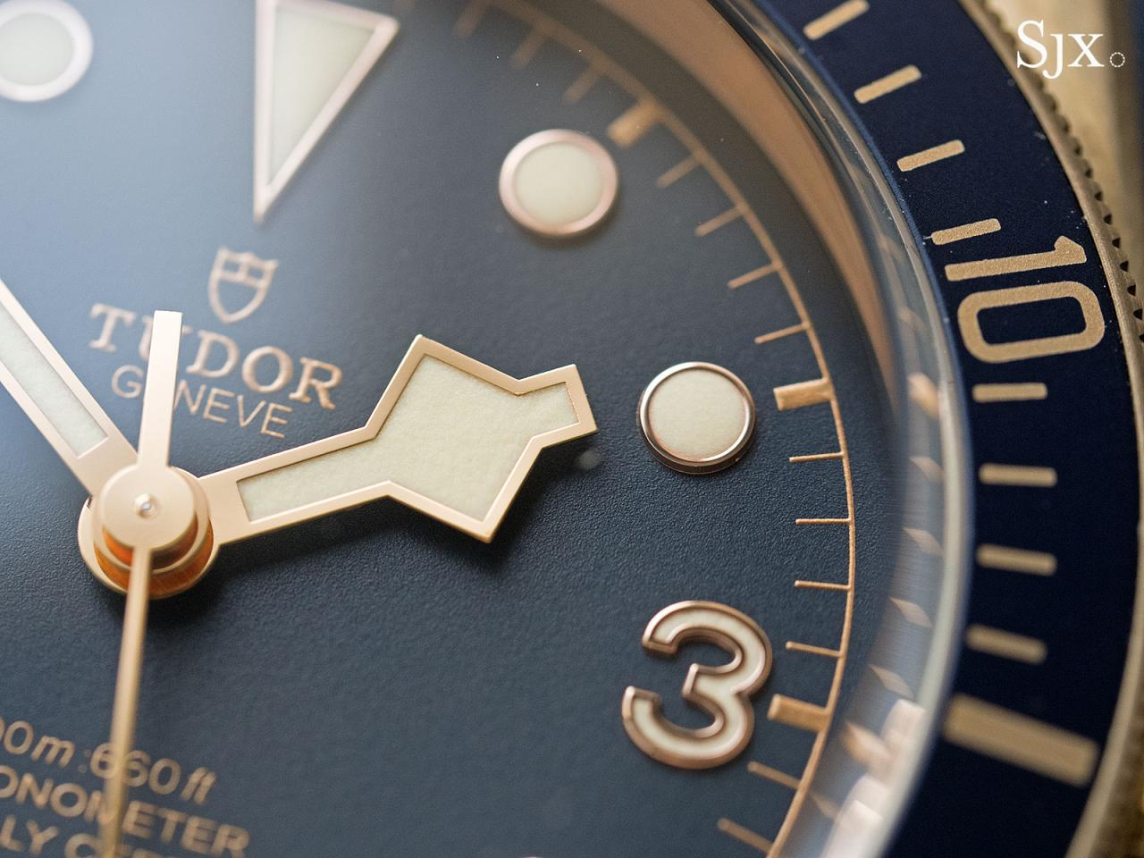 Tudor Black Bay Bronze Bucherer Blue 8