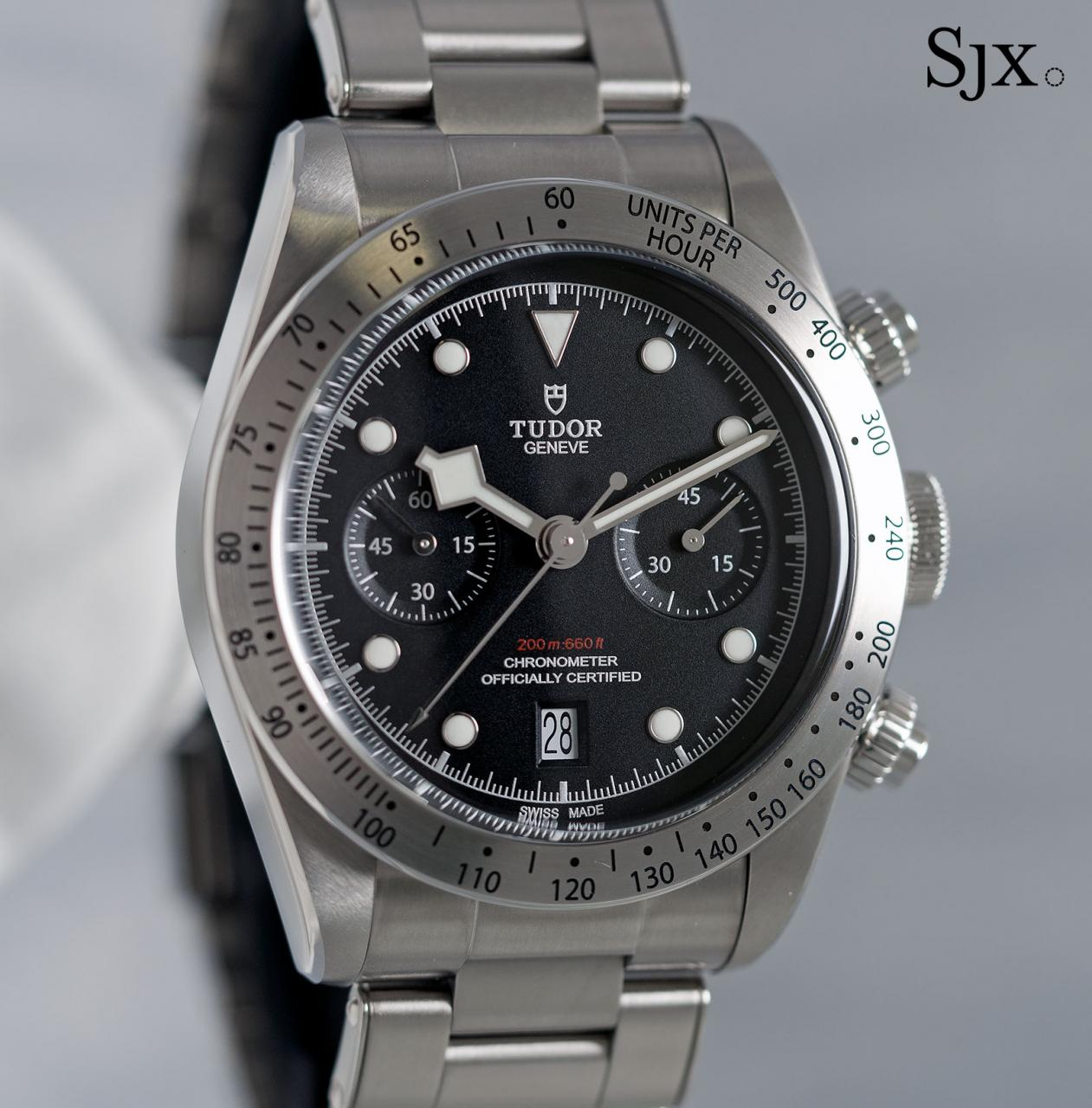 Tudor Black Bay Chrono 79350-2