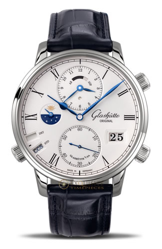Glashutte Original Mechanical Watch:Senator Cosmopolite