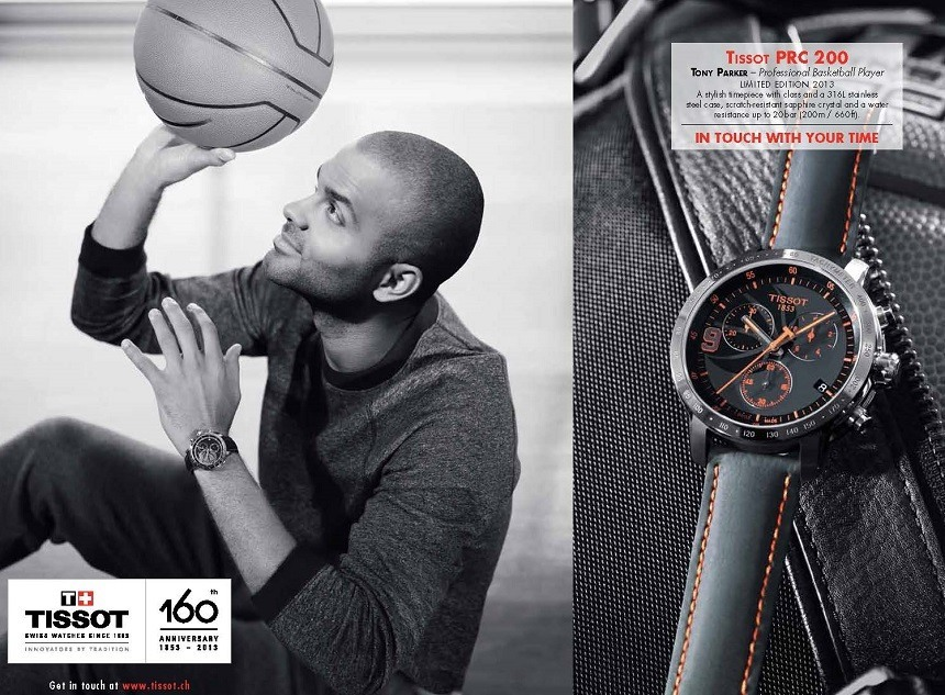 Tissot Watches Become Official Timekeeper Of NBA Basketball