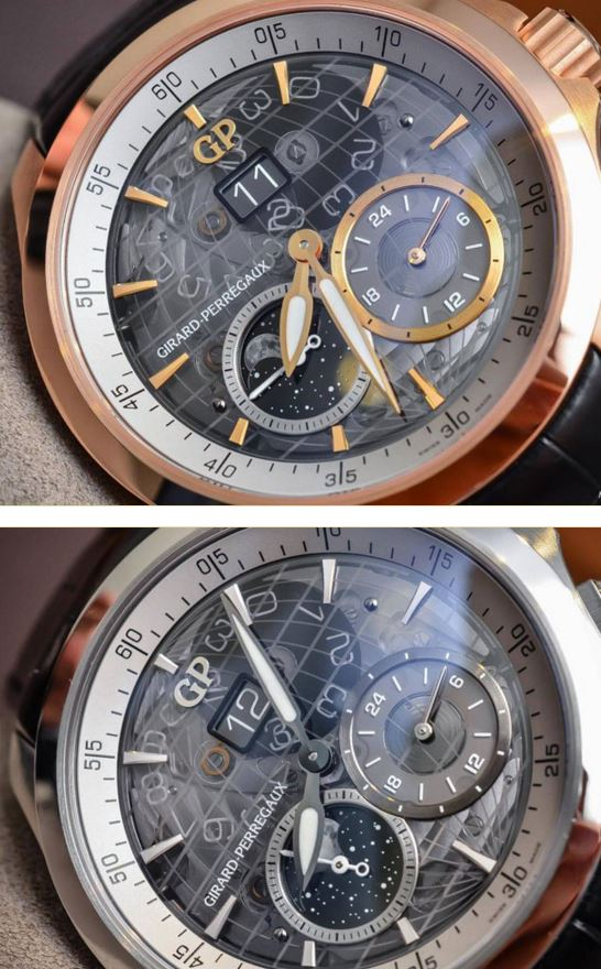 Moonphase & GMT-Girard-Perregaux new model watch
