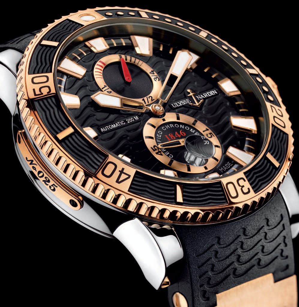 Ulysse Nardin Striking Diver Watch