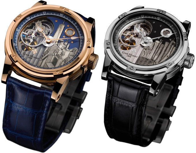 Louis Moinet Presented The Timepieces About Famous Cities In The World