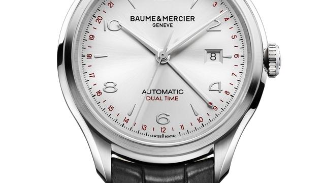 Affordable watch for men-Baume & Mercier Clifton GMT