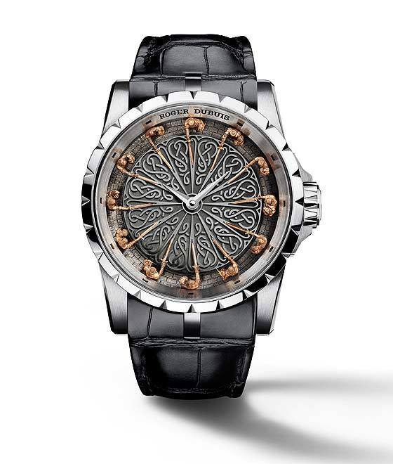 Creditable Wristwatch For Men-Roger Dubuis Excalibur Knights of the Round Table II