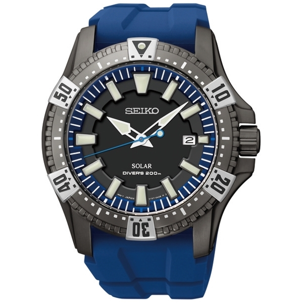 Seiko stainless steel diver's watch