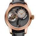 Front of Girard-Perregaux DoubleTri-Axial Tourbillon limited edition watch