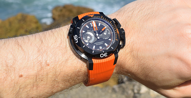 Unique Fashion Accessories-Clerc Hydroscaph Diver Watch