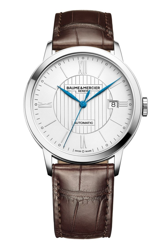 Front of Baume & Mercier Classima 10214 dress men's watch