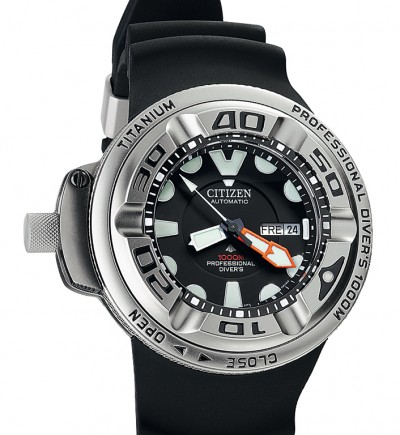 Super Citizen Professional Diving Watch-Citizen Promaster 1000 M