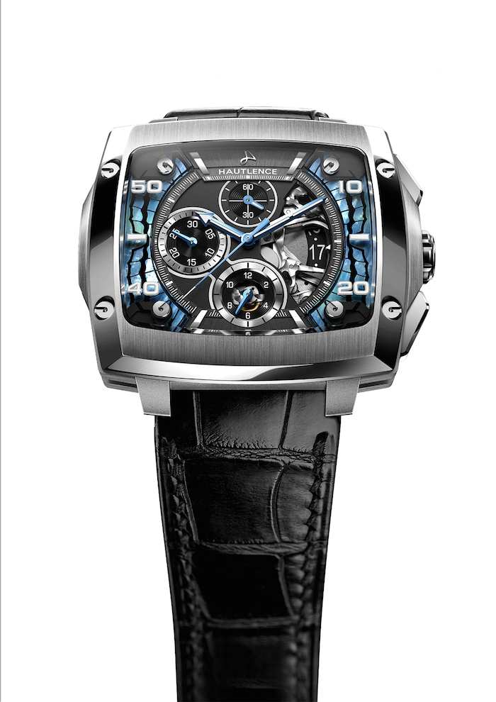 Front of Hautlence Invictus Morphos watch 02