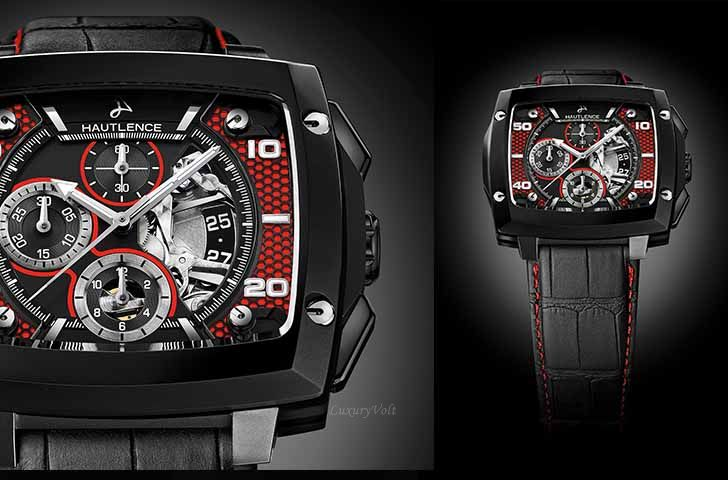 Hautlence Invictus 04 red and black version