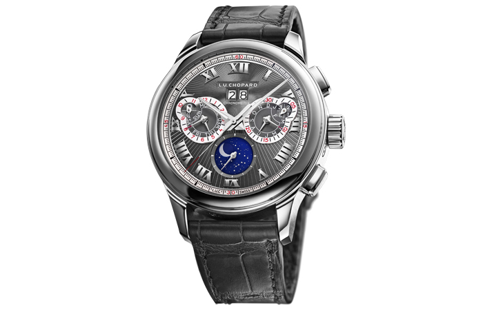 Front of Chopard L.U.C. Perpetual Chrono Limited Edition watch