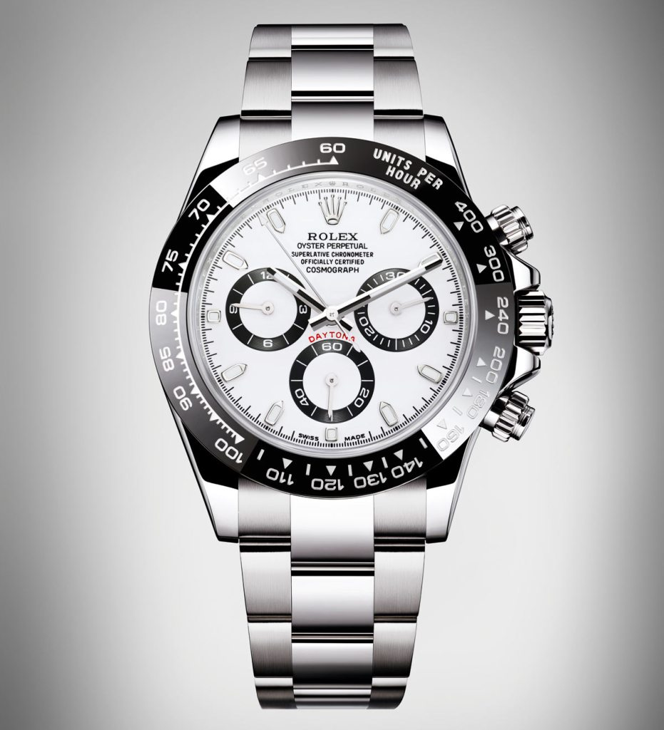 Front of Rolex Cosmograph Daytona Watch 02