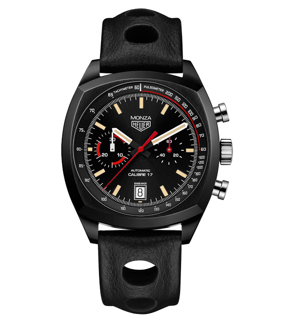 Front of Tag Heuer Heuer Monza 40th Anniversary