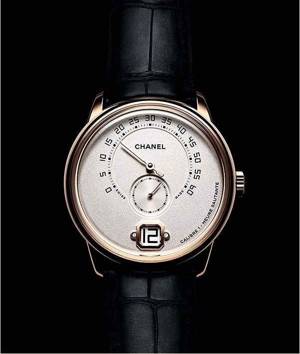 Front of Chanel Monsieur de Chanel watch