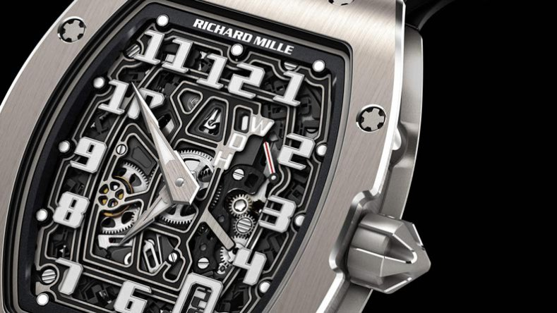 Front of Richard Mille RM 67-01 Automatic Extra Flat