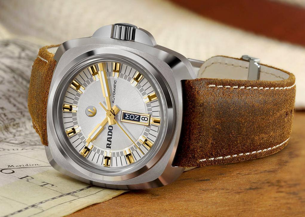 Rado Hyperchrome 1616 with silver dial