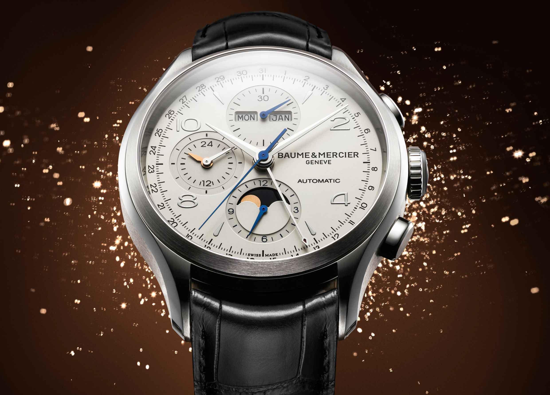 Baume & Mercier Clifton Chronograph Complete Calendar 02