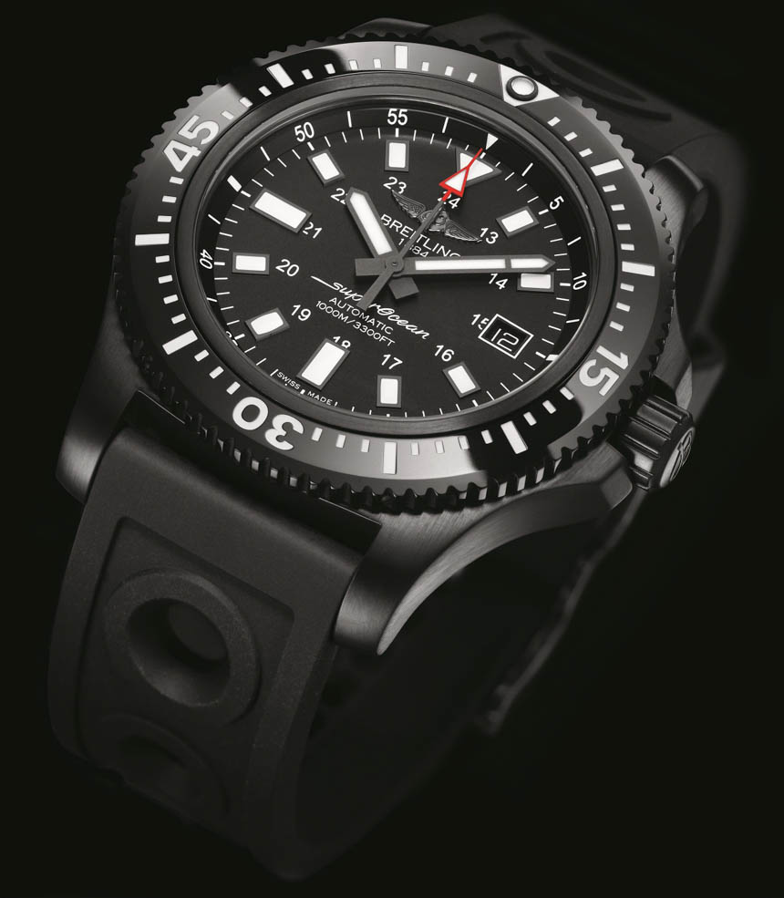 Side of Breitling Superocean Forty Four special watch