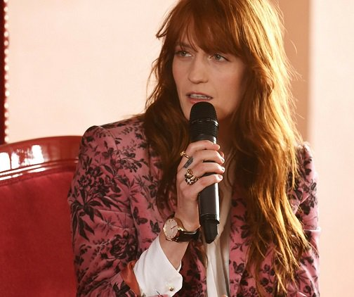 Florence Welch become the Gucci ambassador 02