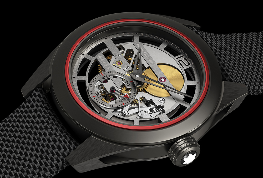 Side of Montblanc TimeWalker Pythagore Ultra-Light Concept Watch