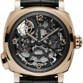 Panerai Radiomir 1940 Minute Repeater Carillon Tourbillon GMT watch hands on