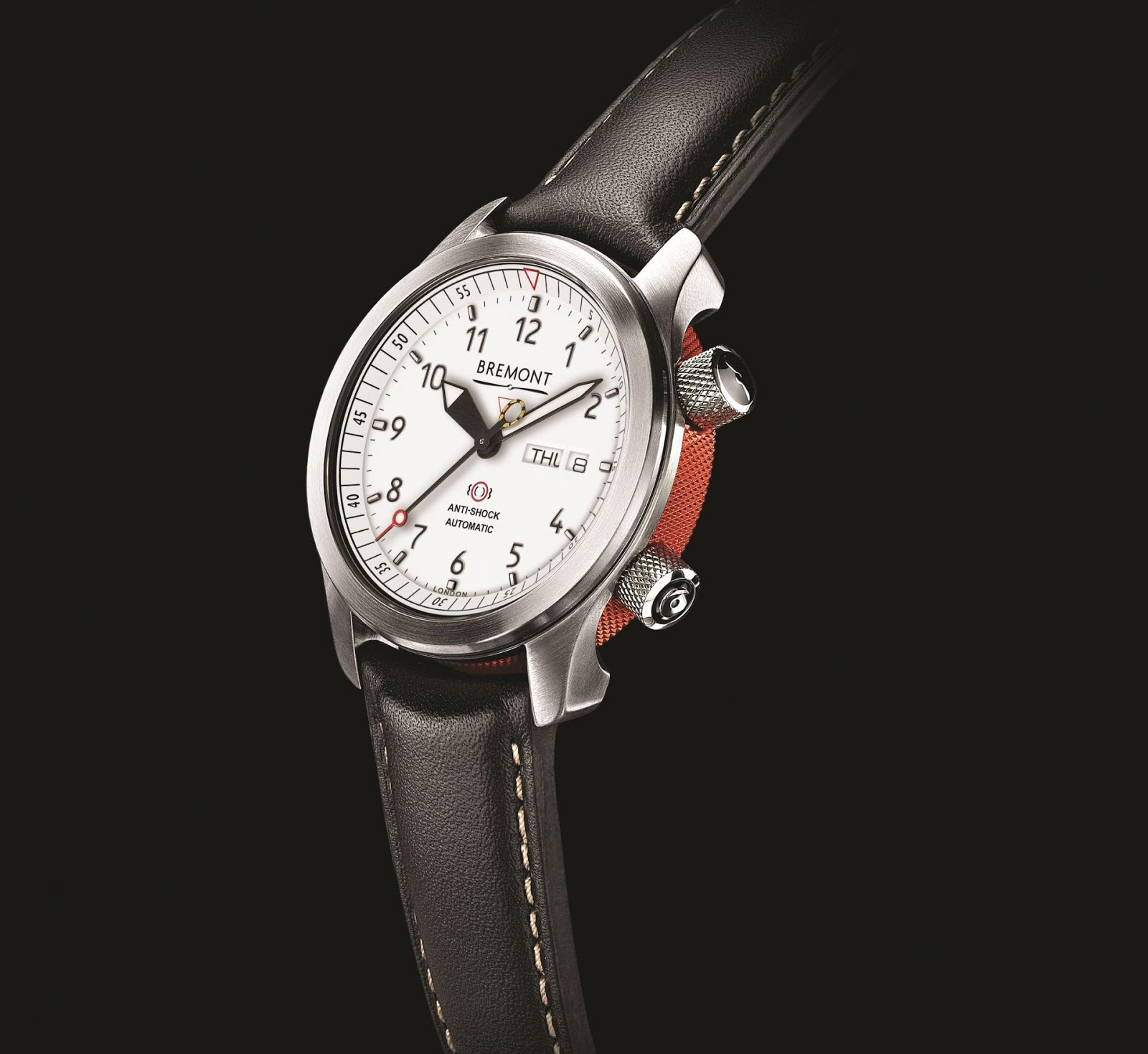 Side of Bremont MBII White