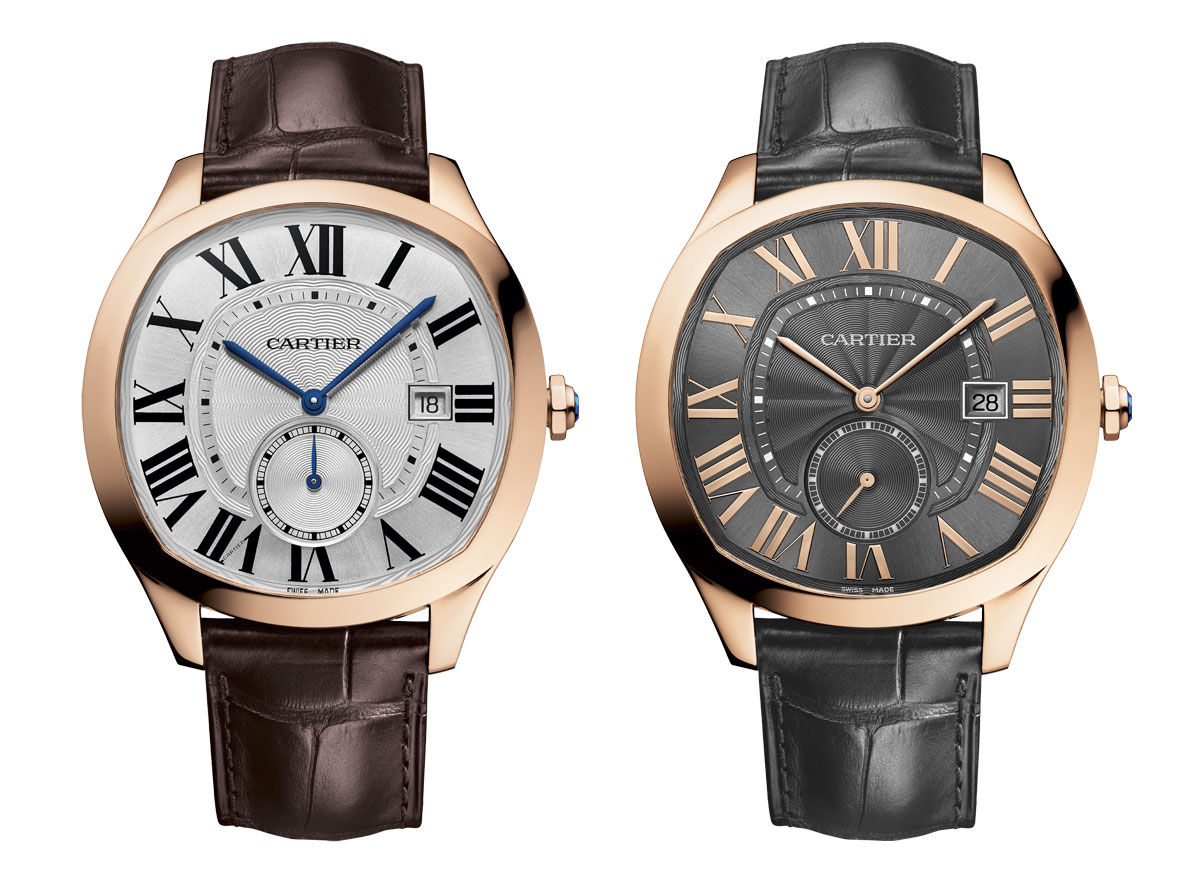 Drive de Cartier rose gold watch 02