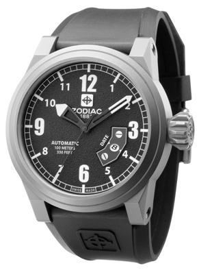 Nice Surprise With The Zodiac Automatic Titanium Watch Watch Releases