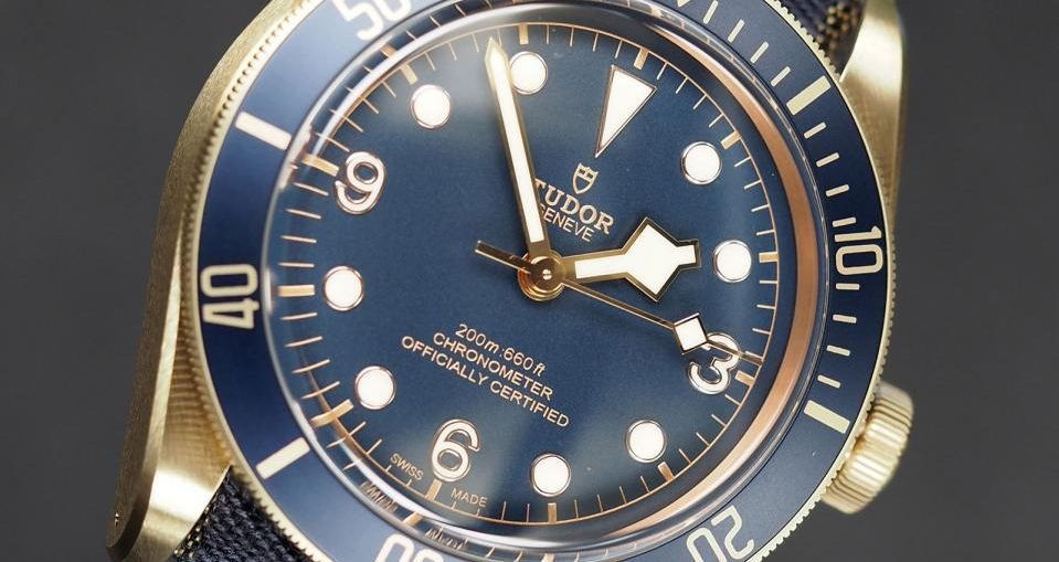 Tudor Black Bay Bronze Blue Bucherer 5